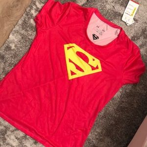 NWT Under Armour Super Woman Large